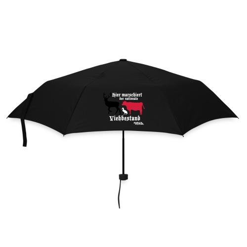 Motiv nationaler Viehbestand - Regenschirm (klein)