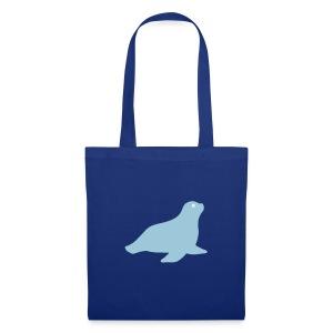 Seehund-Tasche - Stoffbeutel