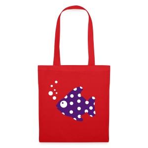 Fisch-Tasche - Stoffbeutel