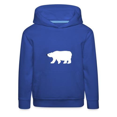 Eisbär-Kapuzenpulli - Kinder Premium Hoodie