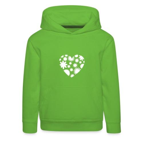 Herz-Kapuzenpulli - Kinder Premium Hoodie