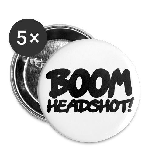 Anstecker 32mm  - Buttons mittel 32 mm