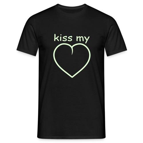 Kiss my _____ - Männer T-Shirt