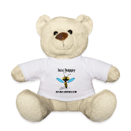 Peluches ~ Nounours ~ Peluche ourson Bee happy