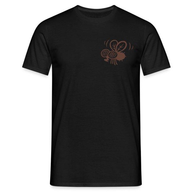 Kackstuhl Shirt, schwarz