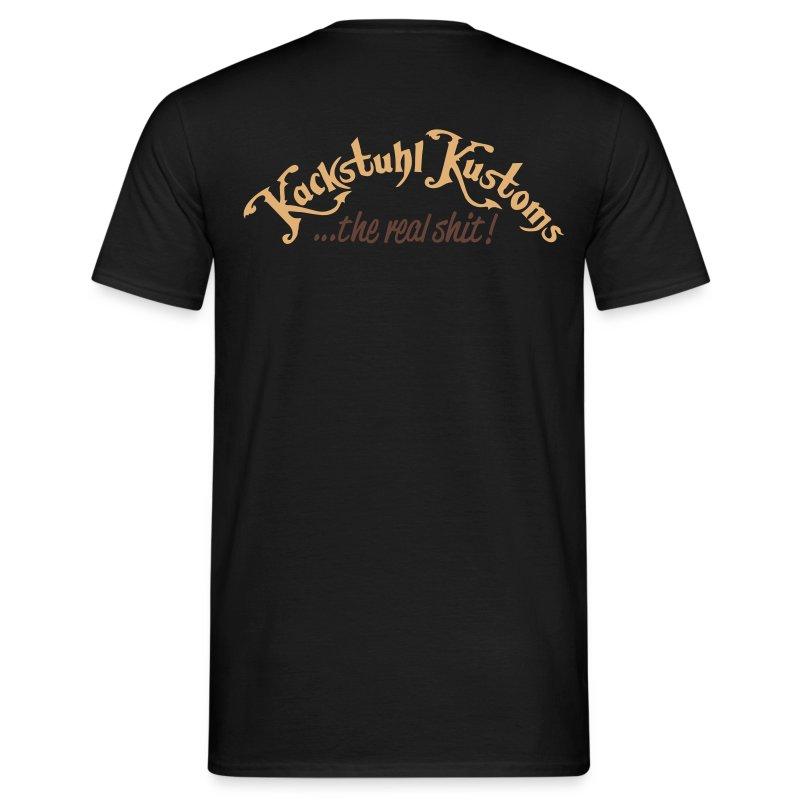 Kackstuhl Shirt, schwarz - Männer T-Shirt