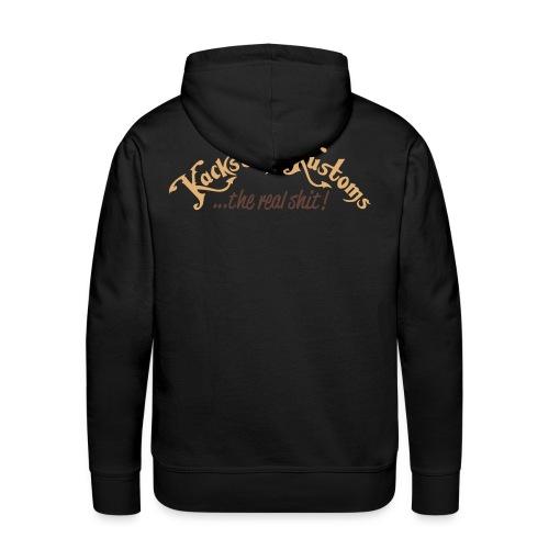Kackstuhl Hoodie, schwarz - Männer Premium Hoodie