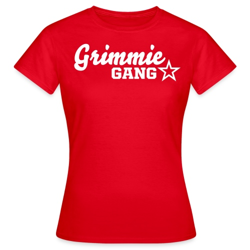 Grimmie Gang [red] - Women's T-Shirt