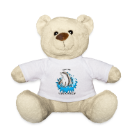 Peluches ~ Nounours ~ Peluche ourson dauphin