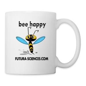 Mug Bee happy - Mug blanc