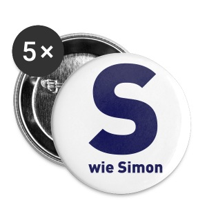 Simon Desue:Anstecker(56mm groß) - Buttons groß 56 mm