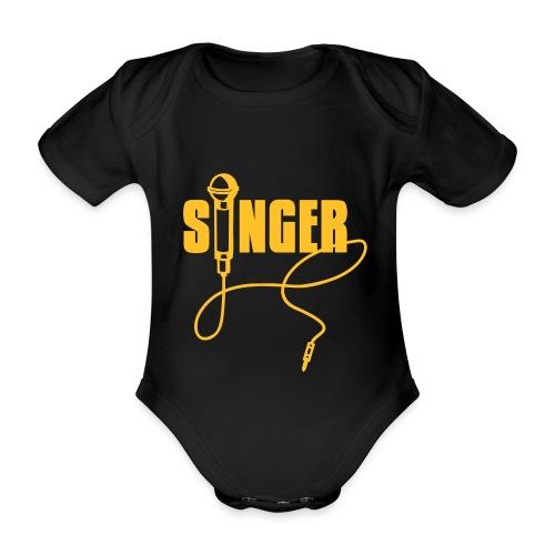 Singer-Baby - Body ecologico per neonato a manica corta