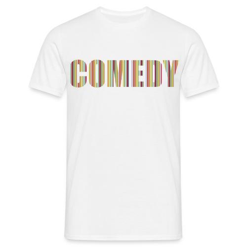 Comedy Herren T-Shirt Streifen - Männer T-Shirt