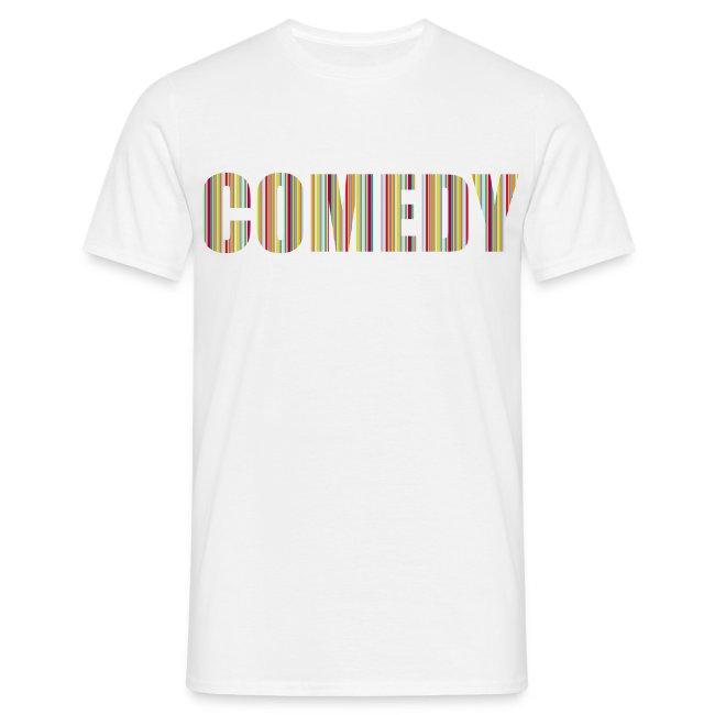 Comedy Herren T-Shirt Streifen