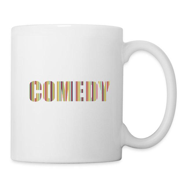 Comedy Tasse Streifen