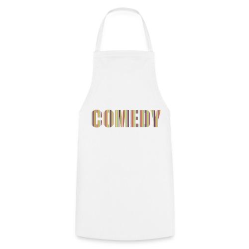Comedy Schürze Streifen - Kochschürze