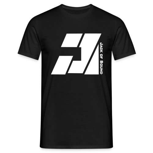 Second Edition Basic - Black/White - Mannen T-shirt
