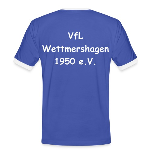 VfL T-Shirt Blue One - Männer Kontrast-T-Shirt