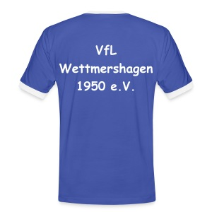 VfL T-Shirt Blue Two - Männer Kontrast-T-Shirt