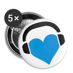 iLoveMusic - Buttons klein 25 mm