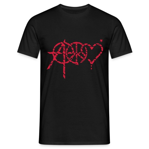 Anarchy Peace Love - Herre-T-shirt