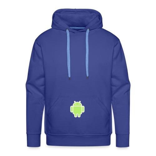 SweatDroid - Sweat-shirt à capuche Premium pour hommes