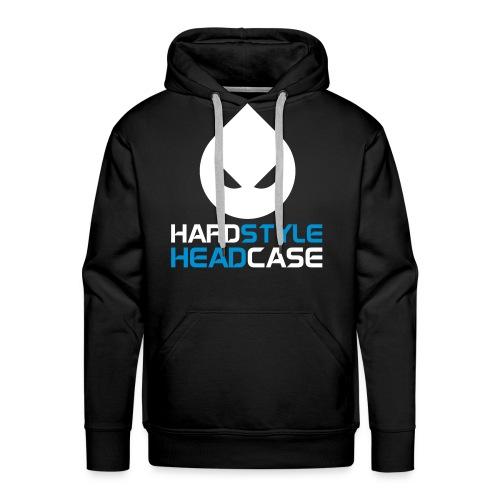 Sweat noir Hard Style/Head Case - Sweat-shirt à capuche Premium pour hommes