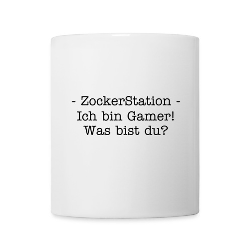 ZockerStation - Tasse - Tasse