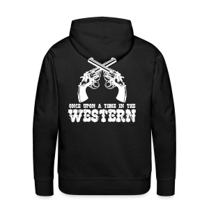 Once Upon a Time in the Western - Men's Premium Hoodie