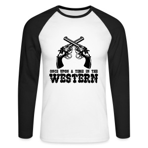 Once Upon a Time in the Western - Men's Long Sleeve Baseball T-Shirt