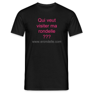 Tee shirts ~ Tee shirt Homme ~ T-Shirt Homme Visiter ma rondelle