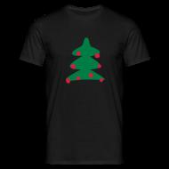 T-shirts ~ Mannen T-shirt ~ Kerstboom
