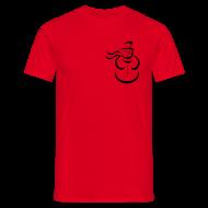 T-shirts ~ Mannen T-shirt ~ Snowman