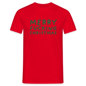 Merry Fucking Christmas - Mannen T-shirt
