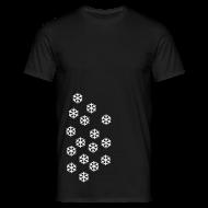 T-shirts ~ Mannen T-shirt ~ Sneeuw