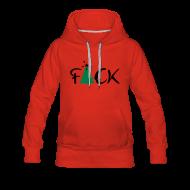 Sweaters ~ Vrouwen Premium hoodie ~ Fuck Kerst