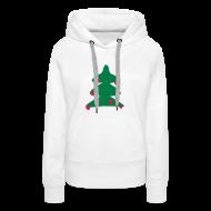 Sweaters ~ Vrouwen Premium hoodie ~ Kerstboom
