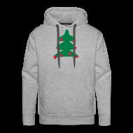 Sweaters ~ Mannen Premium hoodie ~ Kerstboom