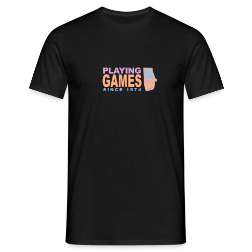 Playing games since 1974 - Männer T-Shirt