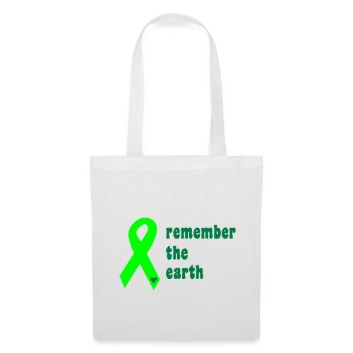 remember the earth tote bag. - Tote Bag