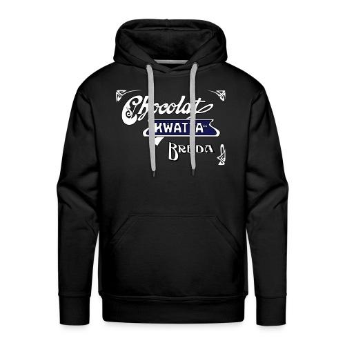 Kwatta Chocolat Breda. - Mannen Premium hoodie