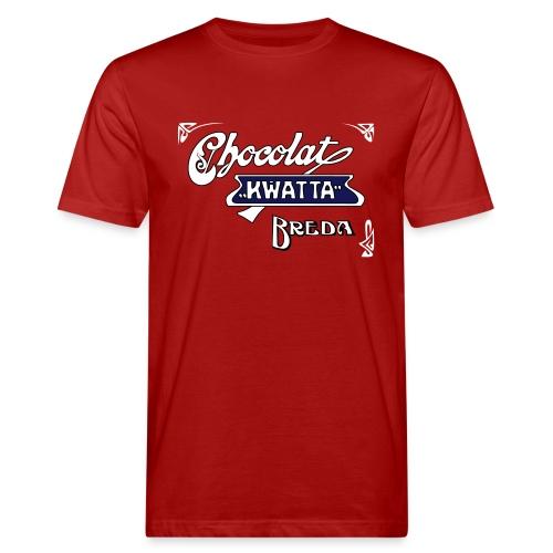 Kwatta Chocolat Breda. - Mannen Bio-T-shirt