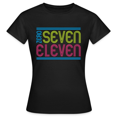 ZERO SEVEN  - Frauen T-Shirt