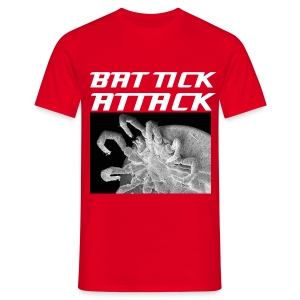 Bat Tick Attack - Männer T-Shirt