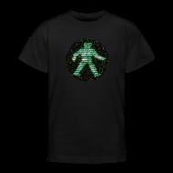Shirts ~ Teenage T-shirt ~ space raiders greenman (Classic Kid's T-shirt)