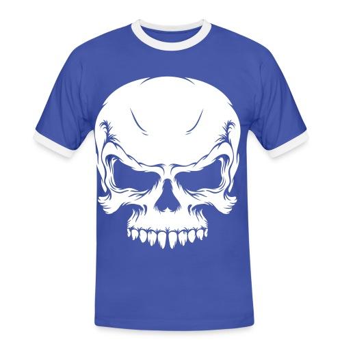 Camiseta Skull - Camiseta contraste hombre