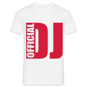 Official Dj Red - Men's T-Shirt