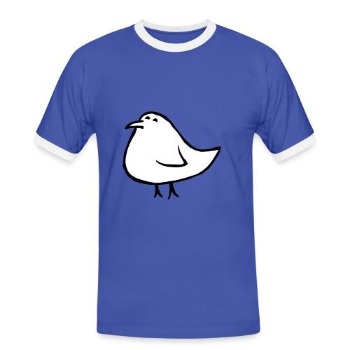 Vogel - Männer Kontrast-T-Shirt