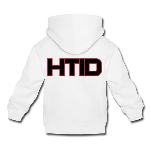 HTID - Kid's White Hoodie - Kids' Premium Hoodie