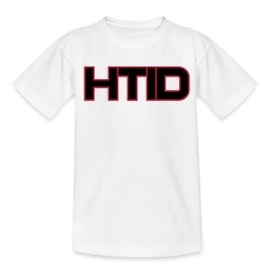 HTID - Kid's Classic White T-Shirt - Teenage T-shirt
